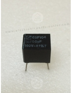 18200pF-1%-160V  GSF104