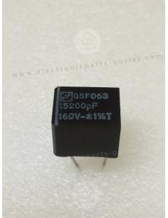 15200pF-1%-160V  GSF063
