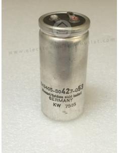 420uF-430V  (Flash capacitor)