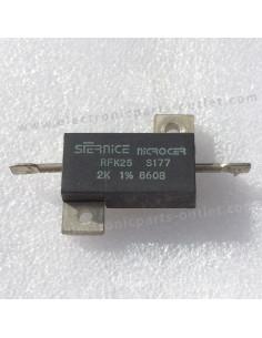 RFK25 Bulk Metal 2K 2W 1%