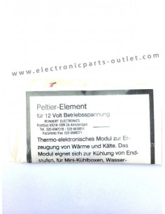 Peltier element - 12VDC/3A delta 60°C
