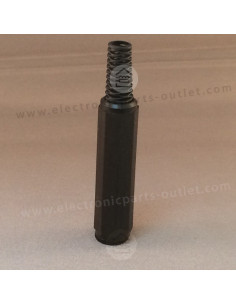 Jack 6,3mm stereo plug female