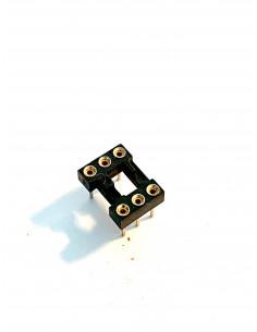 IC socket DIL-6 profi