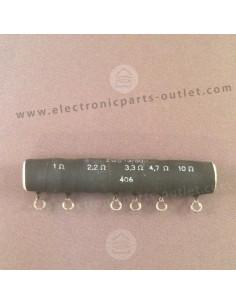 Multistage resistor  1Ω,...