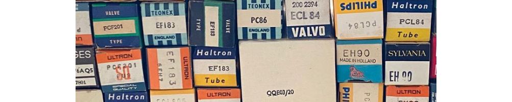 Vacuumtubes, radiotubes, television tubes, audio tubes